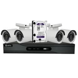Safire Kit CCTV 4 Câmaras...